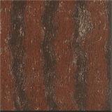 赤い磨かれた床の磁器のタイル