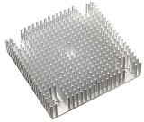Подгонянные теплоотводы термально разрешения алюминиевые для компьютера и портативного электронного