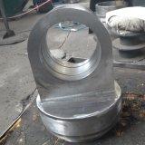 Schmieden und CNC, die Hydrozylinder-Bauteil-Rod-Gabelkopf maschinell bearbeiten