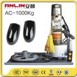 Una buena calidad AC1000kg Motor del obturador de rodillo residente con control remoto