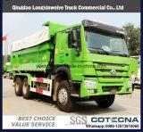 Sinotruk 6X4 수용량 18cbm HOWO 덤프 트럭