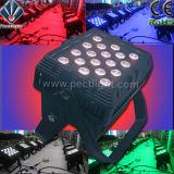 防水か屋外18*8W/RGBW-4in1 LEDの壁の洗濯機ランプライト