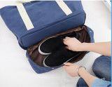 2016 mulheres da lona Moda de Nova Bolsa de viagem baratos Tote Handbag Shoulder Bag Feito de lona Sh-16032209
