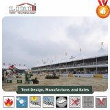 Hohe Spitzen-doppelter Decker-Zelt verwendet für Pferden-Reiten und erstklassige Ereignisse