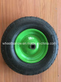 A exploração agrícola utiliza ferramentas o pneumático do Wheelbarrow da roda da borracha 3.50-4