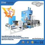 La línea de producción de contenedores de aluminio