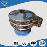 Tamiz vibratorio de los gránulos de goma circulares rotatorios eficientes de la descarga