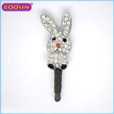 Cute Animal Diamond Dust Plug for Cellphone