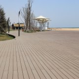 Revestimento Eco-Friendly de WPC, assoalho do Decking de WPC (M139)