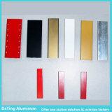 ألومنيوم مصنع [برسسنس] ألومنيوم قطاع جانبيّ يؤنود لون لأنّ شعر مستقيمة