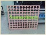Orificio redondo del panel del papel del panal de la alta calidad/de papel de la cartulina que hace la máquina