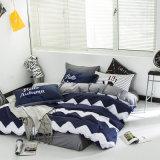 Fundamento da tampa do Comforter dos Bedsheets do algodão do fabricante de China