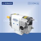 En acier inoxydable de qualité sanitaire Pompe à lobes avec chaleur veste/Sic Sic/EPDM