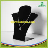 Venda quente de jóias de alta qualidade colar mostrador acrílico suporte rack