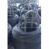 Collegare Olio-Indurito e temperato della molla/filo di acciaio 55crsi