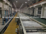 Alambre de acero electro Línea de producción de galvanizado con Certificado CE