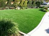 4개의 색깔 다이아몬드 모양 인공적인 잔디
