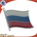 Broche de drapeau de Russie de métal de promotion différente (FTFP1611A)