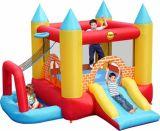 Детский открытый малые надувные спортивные игры, синий упругие замок (CL-023)