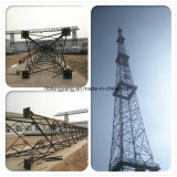 L'angle angulaire de l'acier de la communication de l'antenne radio Trangular pylône en treillis en acier galvanisé