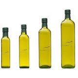Старинные бутылки Marasca из зеленого стекла