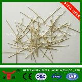 Fibra de aço micro revestida de cobre de alto teor de carbono 2850MPa para construção