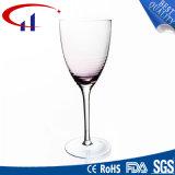 De met de hand gemaakte Duidelijke Gekleurde Drinkbeker van het Glas van de Wijn (CHG8127)