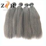 Естественные черные бразильские Kinky прямые оптовые человеческие волосы