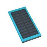 Banco móvel solar 20000mAh da potência solar de telefone de pilha do carregador, banco da potência, fonte de alimentação móvel