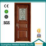 Твердая деревянная дверь для нутряной комнаты с новой конструкцией (WDP2039)