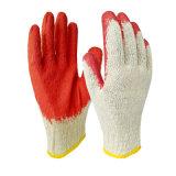 латекс раковины 10g T/C Coated приглаживает перчатки отделки