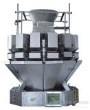 O pesador do PLC Multihead de 14 Siemens principais/Bradley para o cereal, semente, massa, doces, microplaquetas, cortou cogumelos, máquina de empacotamento etc.