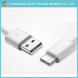 Blanc chaud la vente de données de micro-USB 3.1 câble de type C pour Android et iPhone