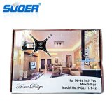 "Suoer TV Wall Mount 14 ""-46"" LCD Sents -Swing-Arms LCD Mount (LCD-1446)"
