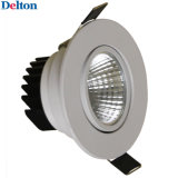 1W flexible Ronda regulable techo LED del punto de luz (DT-TH-1E)