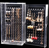 Commerce de gros de la fenêtre affichage acrylique pour la bijouterie collier collection de bijoux