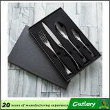 Couverts de cuillère d'acier inoxydable et de cadeau de fourchette