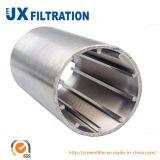 Filtro per pozzi ad alta pressione del Johnson del filtro dal collegare del cuneo