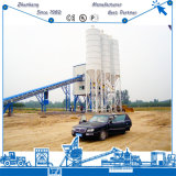 De riem vervoert Concrete het Mengen zich van het Cement 90m3/H Installatie in Sri Lanka