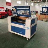 Niedriger Preis CO2 Laser-Stich und Ausschnitt-Maschine für Holz