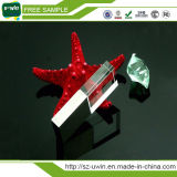 Лучший продавец бесплатные образцы кристально чистый флэш-накопитель USB