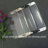 S6 가장자리를 위한 3D에 의하여 구부려지는 이동 전화 부속품 강화 유리 스크린 프로텍터 플러스