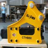 Martillo hidráulico Soosan SB50 de 10-15 toneladas Hitachi ZX110 excavadora ZX120.