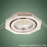 Montage enfoncé par GU10 réglable Downlight de plafonnier MR16 de forme d'octogone