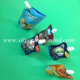 Напечатанный таможней раговорного жанра мешок Spout для жидкостной упаковки
