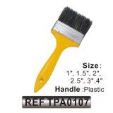 プラスチックハンドル(TPA0107)が付いている競争価格の絵画ツール手のツールの絵筆