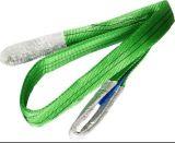 Alta imbracatura della tessitura della piega del doppio del poliestere 2t di tenacia di 100%