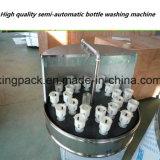 Уборщик полуавтоматного моющего машинаы бутылки чистя щеткой