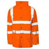 Camiseta de alta visibilidad camisa reflectante de seguridad, de larga chaqueta/camisa de manga corta