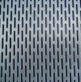 Placas galvanizado malha metálica perfurada